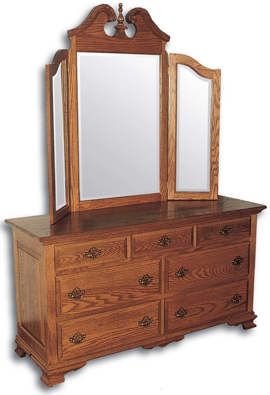 Traditional Double Dresser
