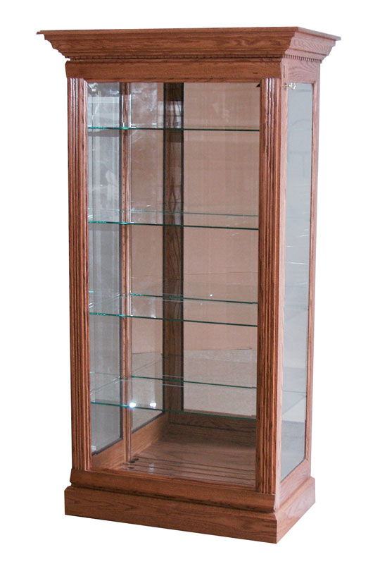 2-Way Sliding Door Curio