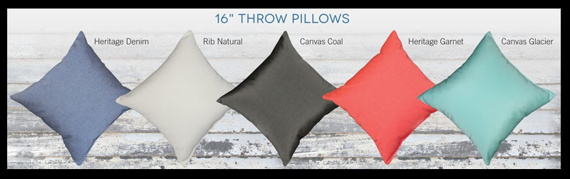 Day's End Throw Pillows