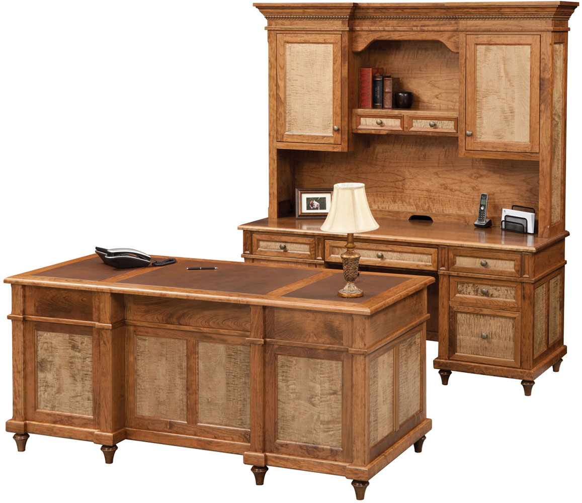 Brigeport Series Collection with Optional Tiger Maple Panels