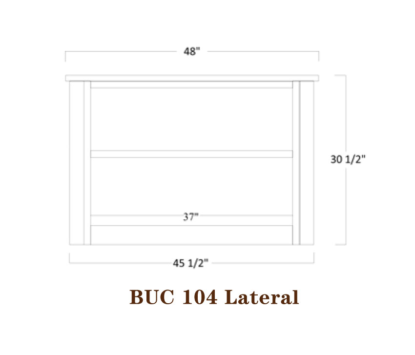 Buckingham Series Lateral File Specifications