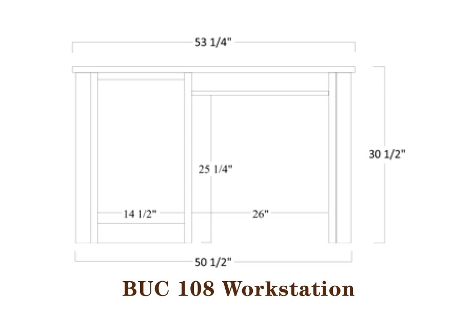 Buckingham Series Workstation Specifications