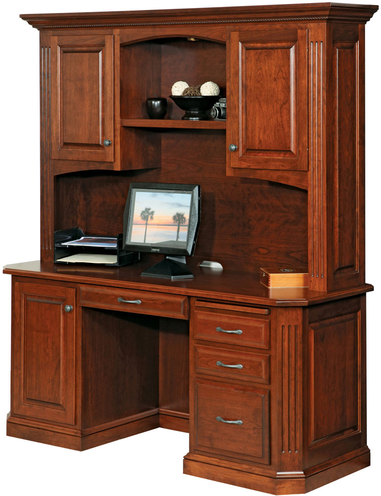 Buckingham Series Credenza and Hutch