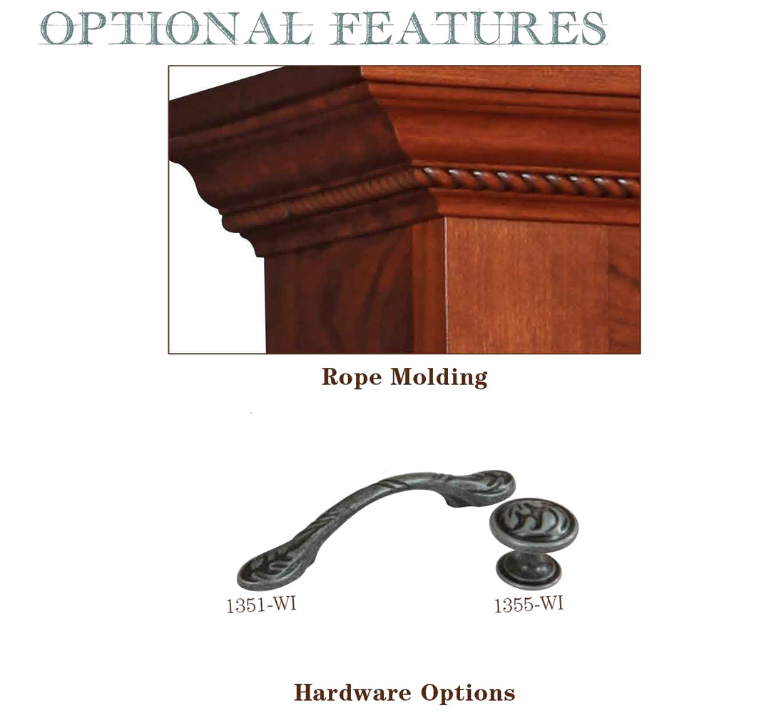 Buckingham Series Optional Features