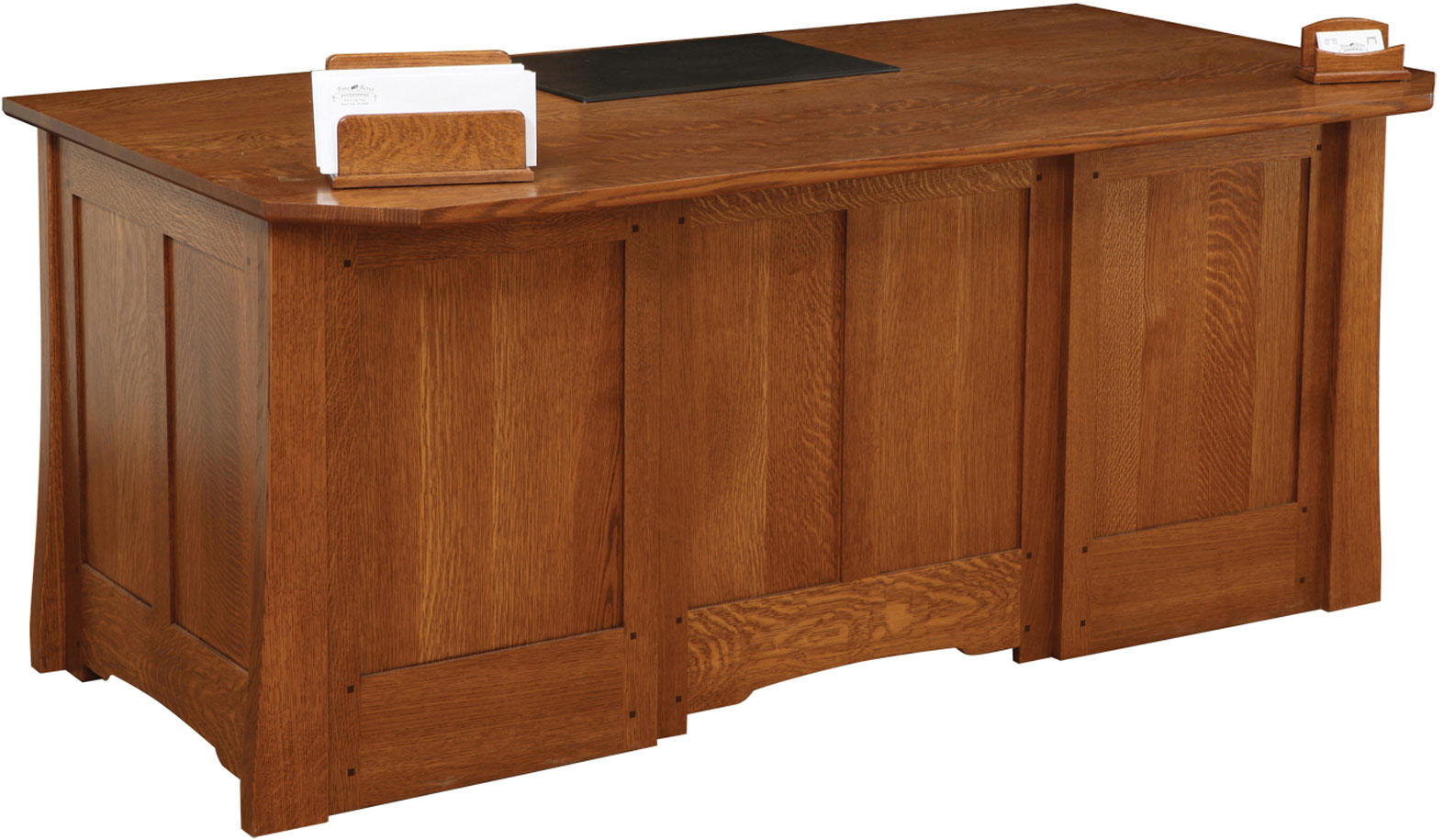 Jamestown Series Executive Desk Front View