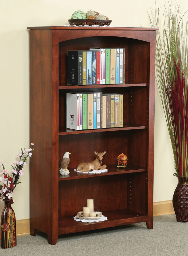 Economy 60 inch High Wide Bookcase