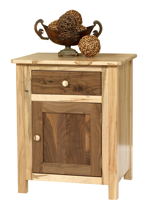Cornwell 1-Door 1-Drawer Nightstand