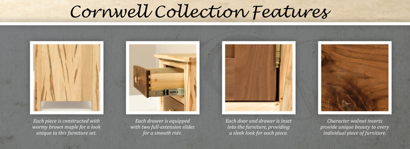 Cornwell Collection Features