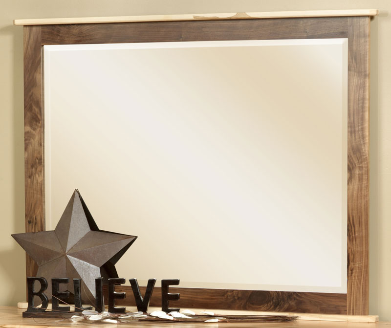 Cornwell Large Beveled Mirror