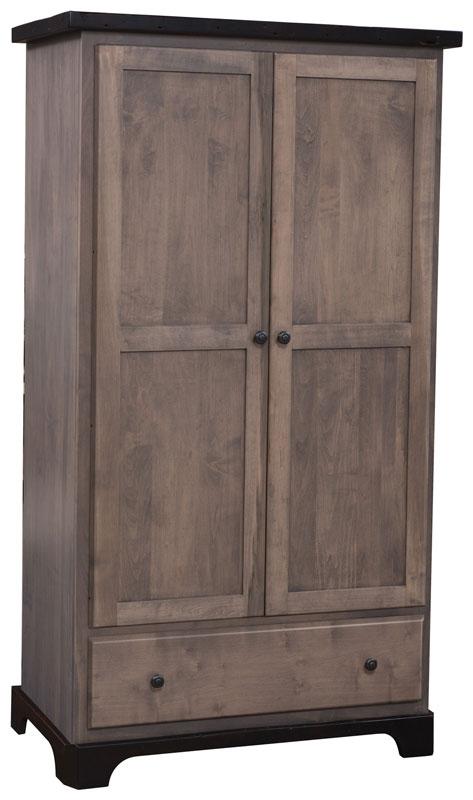 Manchester Wardrobe Armoire Ohio Hardwood Furniture