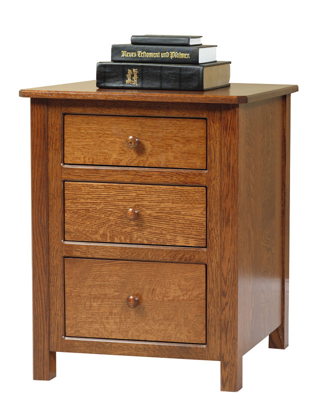 Cornwell 3 Drawer Nightstand