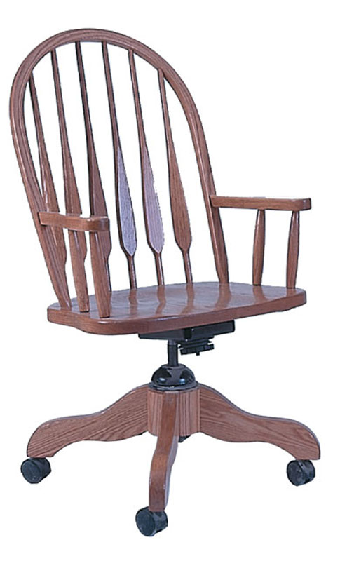 Heirwood Feather Back Desk Chair