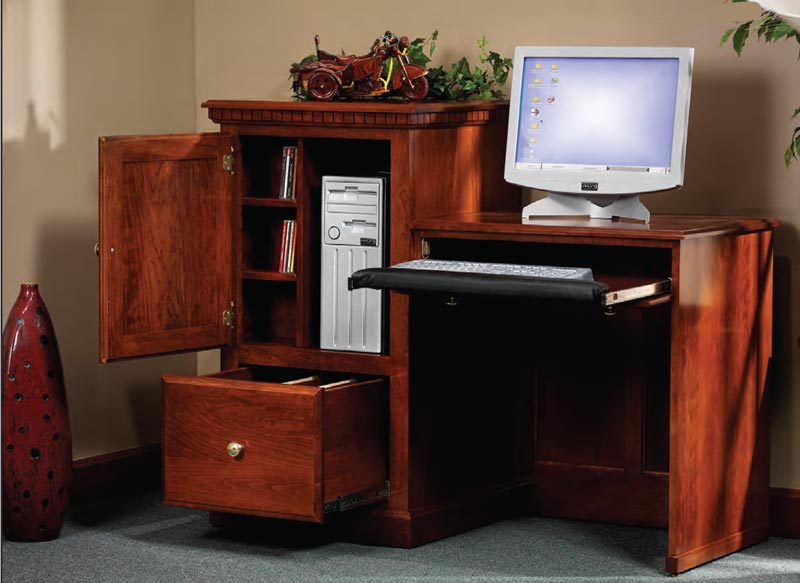 Hi Lo Computer Desk Ohio Hardwood Furniture