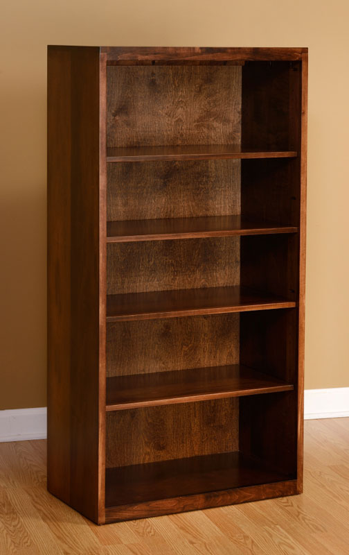 Contemporary Bookcase 801-1642-72