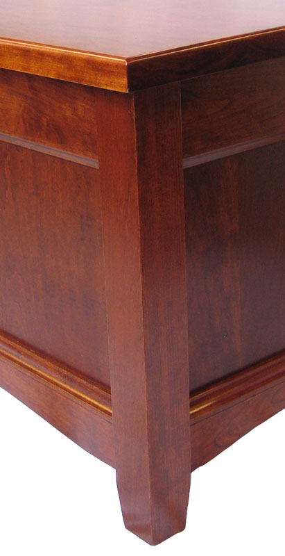 Garnet Hill Enclosed Coffee Table - Ohio Hardword ...