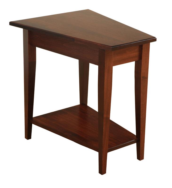Shaker Wedge End Table Ohio Hardword & Upholstered Furniture