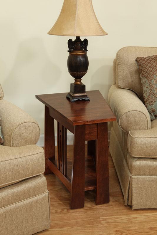 Aspen Wedge End Table Ohio Hardwood Amp Upholstered Furniture