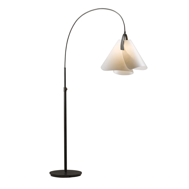 Hubbardton Forge Mobius Arc Floor Lamp Ohio Hardwood