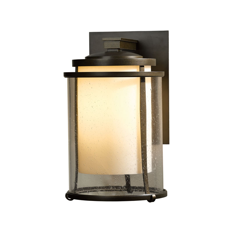 Hubbardton Forge Glass Shades: Hubbardton Forge Meridian Outdoor Sconce