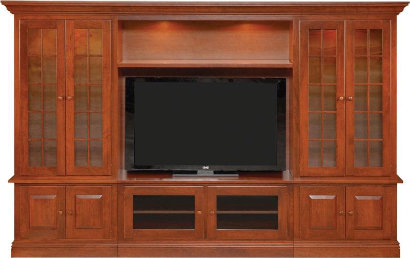 6200 Wall Unit Entertainment Center Ohio Hardwood Furniture