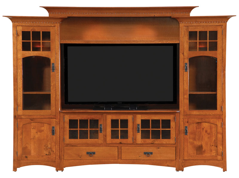 Winchester Bridge Wall Unit Entertainment Center
