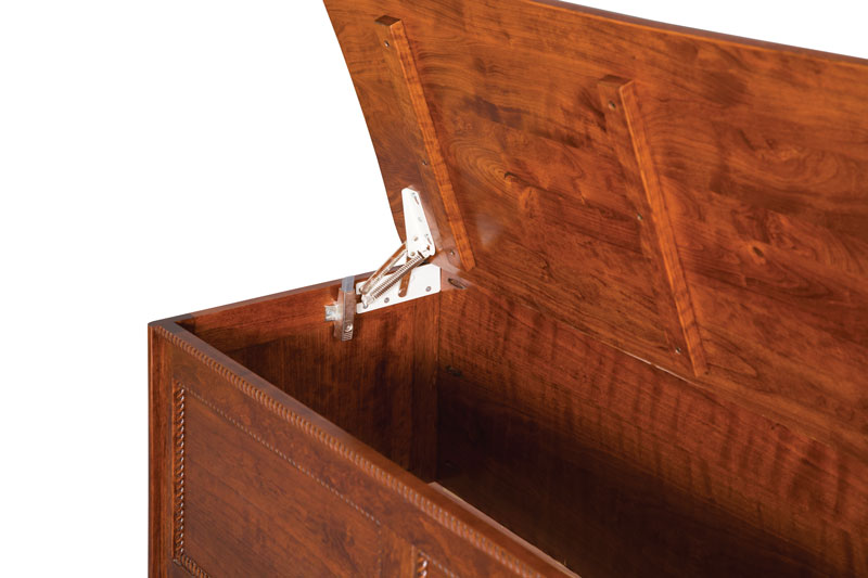 Rolling Pin Blanket Chest Hinge