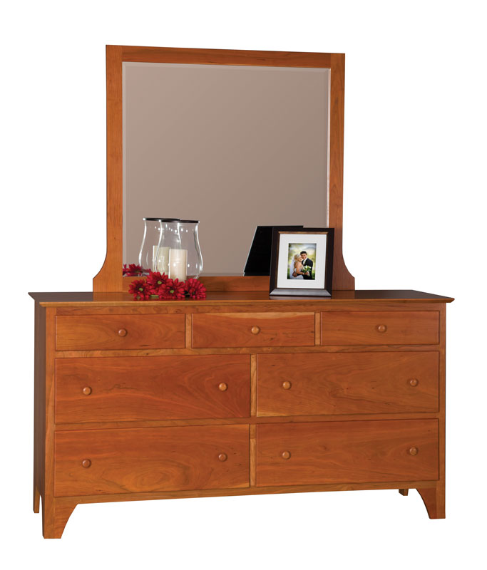 modern shaker large dresser