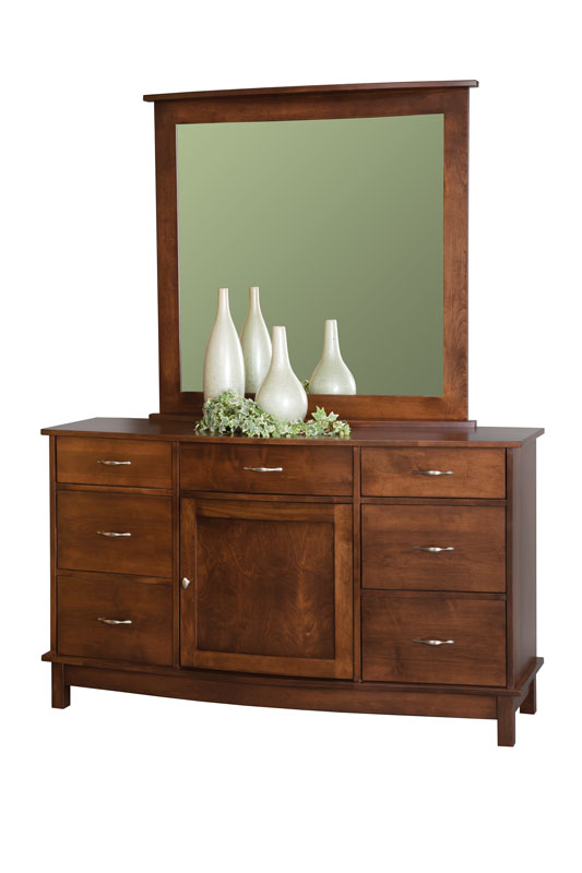 Arch Dresser and Mirror (sold separately)