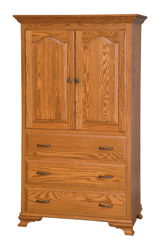 Heritage 3-Drawer Armoire