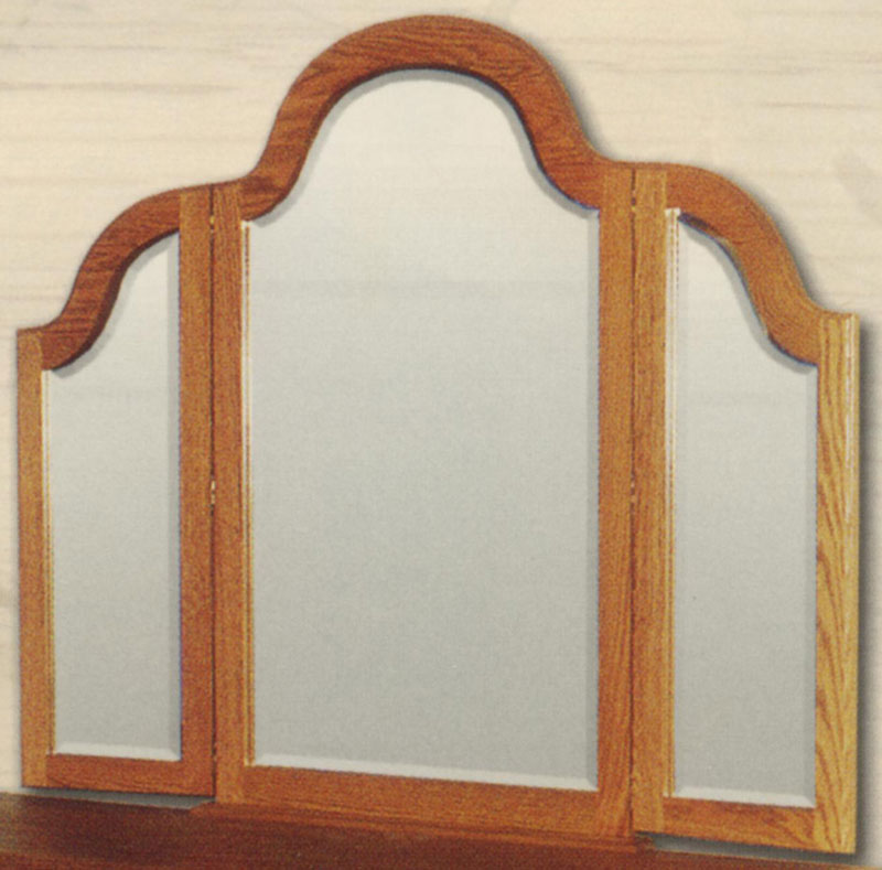 Heritage Tri-View Mirror