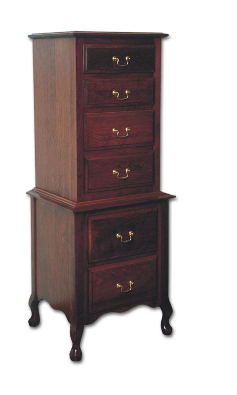 Queen Anne Lingerie Chest Ohio Hardwood Amp Upholstered