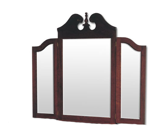 Queen Anne Tri-View Mirror