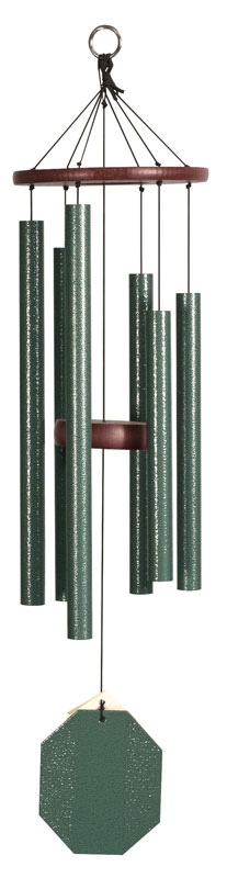 Evergreen Malachite Wind Chimes