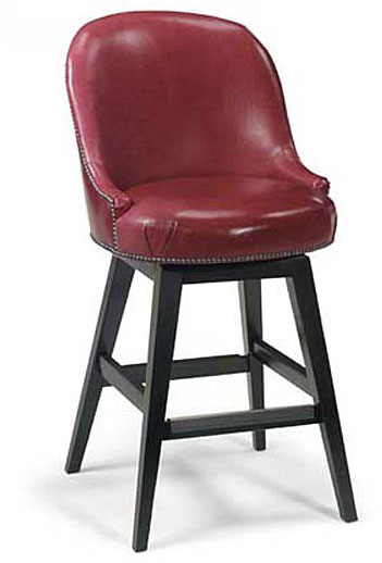 Leathercraft 2358-SW Holland Swivel Barstool