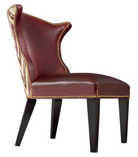 Leathercraft 499-10 Roberto Dining Chair