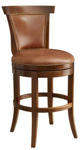 Leathercraft 508-10 Lowell Armless Barstool