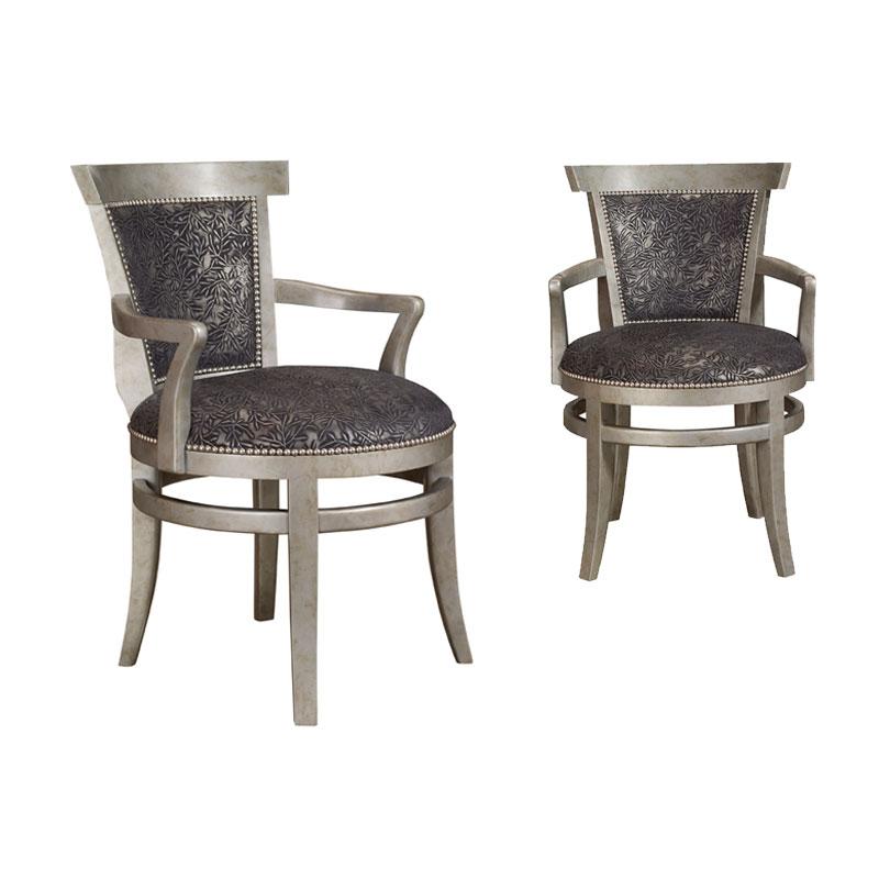 Leathercraft 509 Lowell Dining Chair Ohio Hardwood Furniture