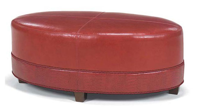 Leathercraft 183 Cocktail Ottoman