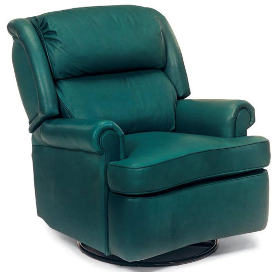 Leathercraft 1057 Bradley Swivel Rocker Recliner