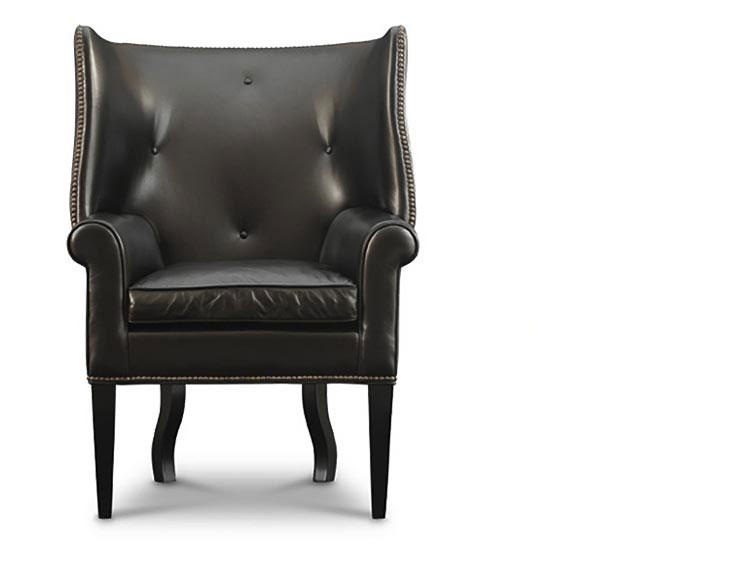Leathercraft 1221-17 Wing Chair