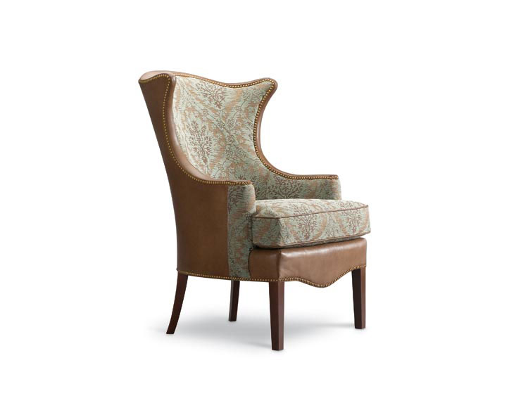 Leathercraft 1231-17 Wing Chair