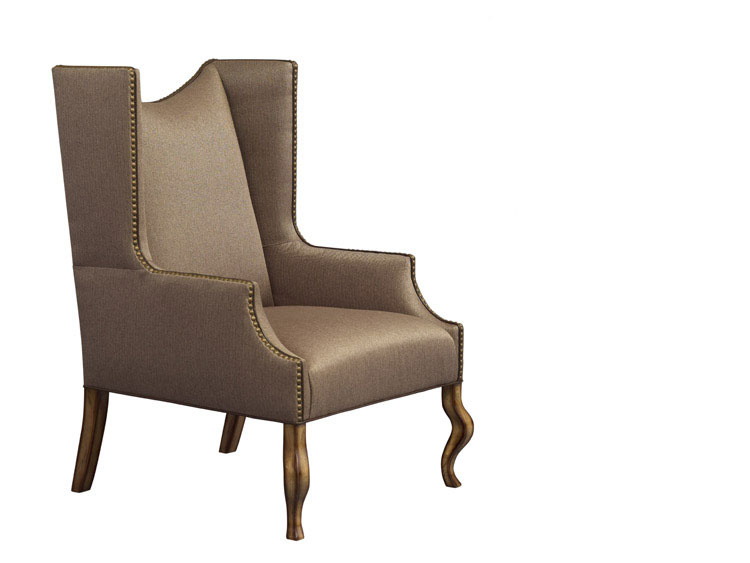 Leathercraft 1292-17 Linden Wing Chair