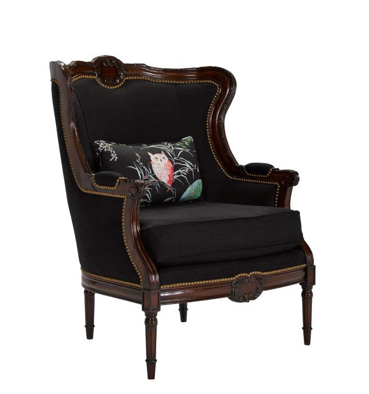 Leathercraft 1311-17 Auteuil Wing Chair
