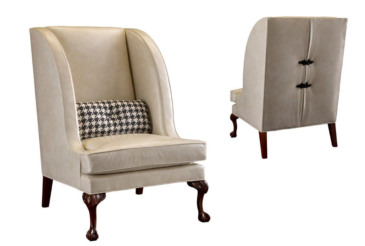 Leathercraft 1351-17 Alexia Wing Chair
