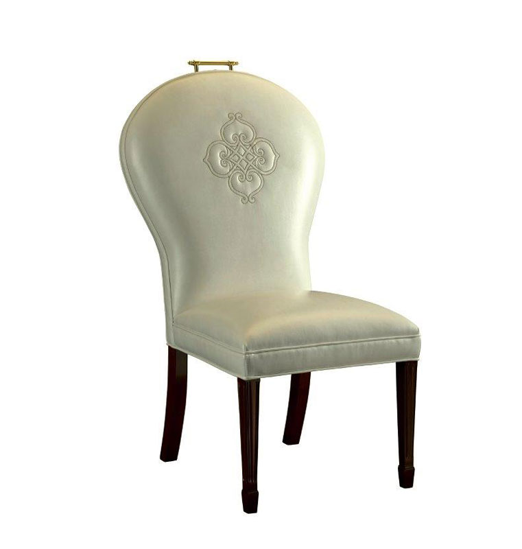 Leathercraft 1399-10 Ophelia Armless Dining Chair