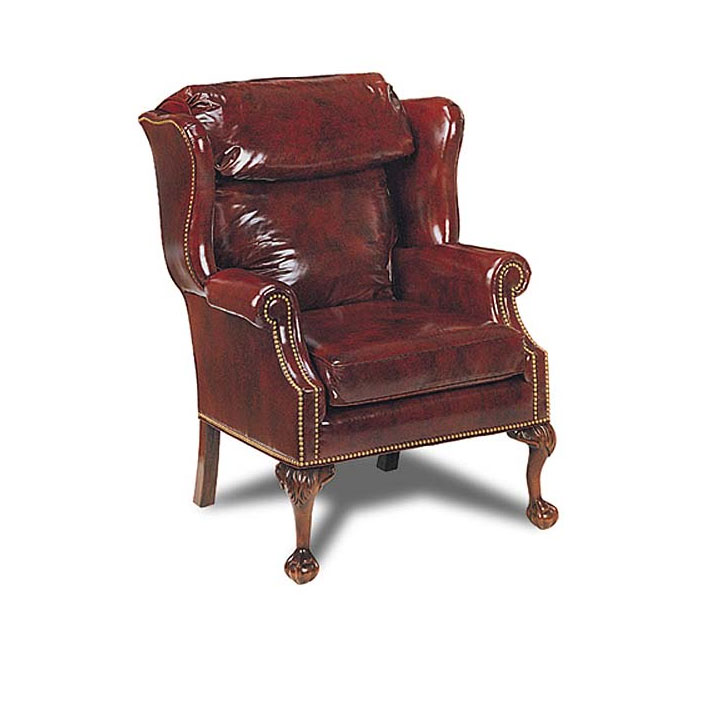 Leathercraft 141-15 Reynolds Wing Chair