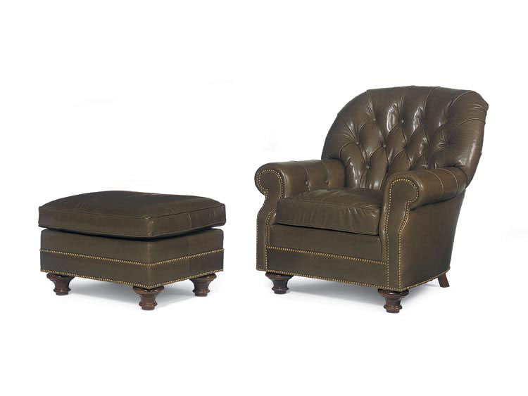 Leathercraft 2372 Colette Chair And 2373 Colette Ottoman (sold Separately)