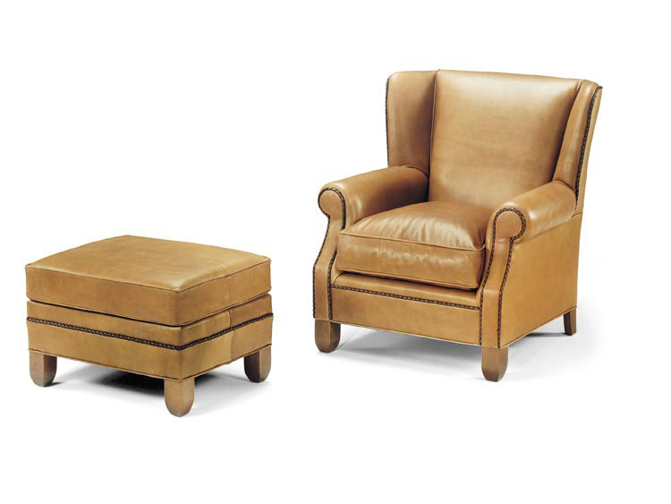 Leathercraft 2442 Asleigh Chair And 2443 Asleigh Chair Ottoman (sold  Separately)