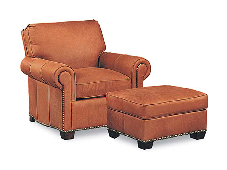 Leathercraft 2672 Chair and 2673 Ottoman