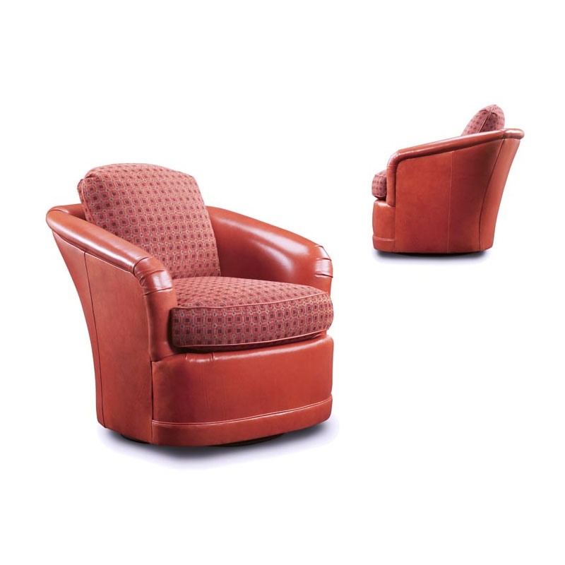 Leathercraft 2722 Louise Swivel Chair